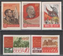 CCCP/URSS/RUSSIE/RUSSIA/ZSRR 1957** MI.1995-99B**,ZAG.2070-74,YVERT... - Unused Stamps