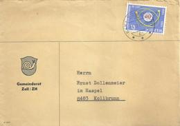 """Motiv Brief  """"Gemeinderat Zell ZH""""             1965 - Briefe U. Dokumente"""