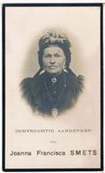 Dp. Joanna Smets - Van Bosch. ° Willebroeck 1823 † St. Catharina-Waver 1915  (2 Scan's) - Religion & Esotericism