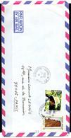 POLYNESIE. N°215 De 1984 Sur Enveloppe Ayant Circulé. Chapeau. - Briefe U. Dokumente