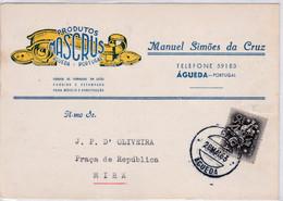 Postal Publicitário-produtos Mascrus - Briefe U. Dokumente
