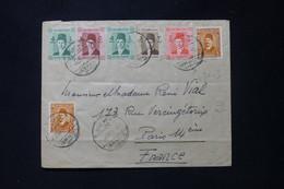 EGYPTE - Enveloppe De Ismalia Pour Paris En 1939 - L 89465 - Briefe U. Dokumente