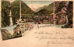 Interlaken, Farb-Litho, 1899 - BE Berne