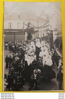 CPA - AMBOISE -  Carte Photo - FELIX POTIN Situé Au 76 Rue Nationale - Cavalcade Fête Défilé - Amboise