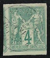 Colonies Générales N°25 Avec Cachet INDE PONDICHERY, Voir Photo Et Descriptif - Sage