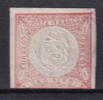 PEROU - 1862 - YVERT N° 8 ** MNH (MARGE COURTE) - Perú