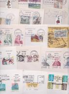 ESPAGNE ESPAÑA SPAIN - Lot Varié De 274 Enveloppes Premier FDC First Day Covers Cover Issue Primer Dia De Circulacion - FDC