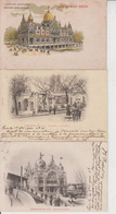 EXPOSITIONS  -  PARIS  -  BORDEAUX  -  MARSEILLE  -  LOT DE 18 CARTES  - - 5 - 99 Postcards