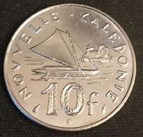 NOUVELLE CALEDONIE - 10 FRANCS 1992 - Avec IEOM - KM 11 - Pirogue à Balancier De L'île Des Pins - New Caledonia