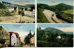 010331  Dittersbach I. Schlesien Mehrbildkarte - Schlesien