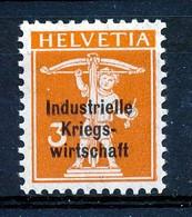 Dienstmarken/Timbres De Service: I.K.W. - Mi Nr 1 II - MH* - Cote 6,00 € - Oficial