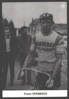 Frans Verbeeck - Cycling