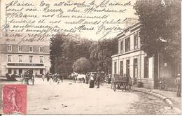 QUINTIN (22) La Gare En 1906 - Quintin