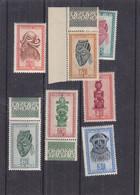 Congo Belge - 7 Timbre Masques ** - Avec Tâches - 1,25 F Pas Compté - Valeur 15,45 Euros - 1947-60: Mint/hinged