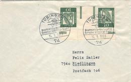 Tübingen 1963 74 - Dürer Berlin Kehrdruck Mit Allonge > Riedlingen - Cartas