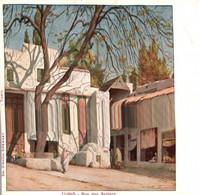 TUNISIE - TUNIS - Rue Des Selliers  / ILLUSTRATEUR / EDITEUR D AMICO / PRECURSEUR - Tunesië