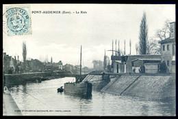 Cpa Du 27 Pont Audemer La Risle     NOV20-78 - Pont Audemer