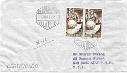 Spanish Sahara R Letter (stamps Alone 30 Euros) 1952 - Sahara Español