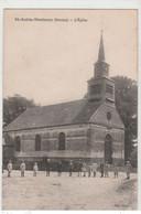 Dt 80  ST SAINT AUBIN MONTENOY - L'Eglise  (animation ) - Autres Communes