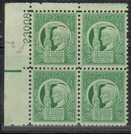1943 - FOUR FREEDOMS AND 1952 - NATO - PLATE NUMBER - 3 X BLOCK OF 4 (MNH) .......... WNV - Nuevos