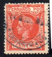 Sello Nº 120  Fernando Poo - Fernando Poo