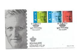FDC P1776   4369/71  ROI PHILIPPE    KONING FILIP - Cartas