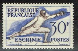 FR 1813 - FRANCE N° 962 Neuf** Jeux Olympiques Helsinki Escrime - Unused Stamps