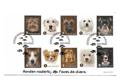 FDC P1777  4386/92  CHIENS / DOGS / HONDEN - Cartas