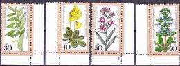 Berlin - Waldblumen (MiNr: 573/6) 1979 - Postfrisch MNH - Unused Stamps