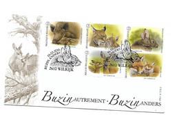 FDC 1780 4399/4403   BUZIN Wildlife - Cartas