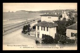 64 - HENDAYE - BOULEVARD PROMENADE DE LA PLAGE - Hendaye