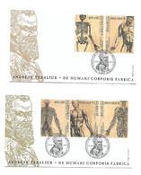 FDC P1784 I/II N° 4416/20  ANDREAS VESALIUS - Cartas