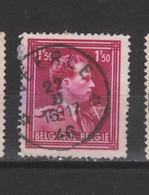 COB 691 Centraal Gestempeld Oblitération Centrale Sterstempel Cachet étoile VEERLE - 1936-1957 Col Ouvert