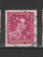COB 691 Centraal Gestempeld Oblitération Centrale Sterstempel Cachet étoile HOEVENEN - 1936-1957 Col Ouvert