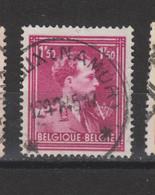 COB 691 Centraal Gestempeld Oblitération Centrale Sterstempel Cachet étoile LEROUX (NAMUR) - 1936-1957 Col Ouvert