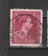 COB 832 Centraal Gestempeld Oblitération Centrale DIEPENBEEK B - 1936-1957 Col Ouvert