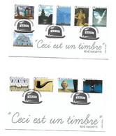 FDC P1791 I/II N° 4430/39 RENE MARGRITTE - Cartas