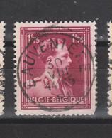 COB 832 Centraal Gestempeld Oblitération Centrale SAUVENIERE - 1936-1957 Col Ouvert