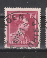COB 832 Centraal Gestempeld Oblitération Centrale EDINGEN - ENGHIEN - 1936-1957 Col Ouvert