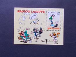 FRANCE -  Blocs Feuillets  N° 35   BD  GASTON  LAGAFFE   Année  2001  Neuf XX Sans Charnieres Voir Photo - Ungebraucht