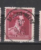 COB 832 Centraal Gestempeld Oblitération Centrale ST-JORIS-WEERT - 1936-1957 Col Ouvert