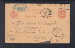 Rumänien Romania GSK 1889 Constanta Nach Griechenland - Brieven En Documenten