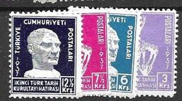 Turkey Mh * 1937 Complete Set (40 Euros) - Ungebraucht