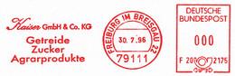 Freistempel Kleiner Ausschnitt 011 Getreide Zucker Agrarprodukte - Affrancature Meccaniche Rosse (EMA)