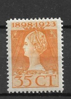 1923 MH Netherlands NVPH 127 - Unused Stamps