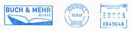 Freistempel Kleiner Ausschnitt 100 Buch - Marcofilie - EMA (Printmachine)