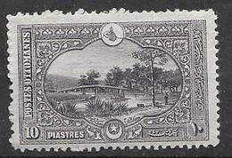 Turkey Mh * 10 Euros 1920 - Ungebraucht