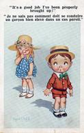 DC5777 - Ak Humor Kinder Liebe Schöne Motivkarte - Humor
