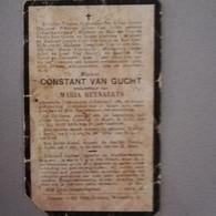 Bidprentje Van Gucht Constant Wed Reynaerts ° Thienen Tienen 1884 Overleden 1916 - Todesanzeige