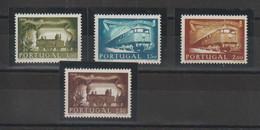 Portugal 1956 Centenaire Du Chemin De Fer 831 à 834 4 Val ** MNH - Unused Stamps